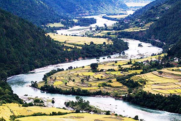 Rivers of Bhutan